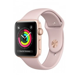 Купить Apple Watch Sport Series 3 Gold Aluminum Case with Pink Sand  Sport Band 38mm онлайн