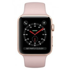 Купить Apple Watch Sport Series 3 Gold Aluminum Case with Pink Sand  Sport Band 42mm онлайн