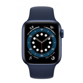 Купить Apple Watch Series 6 44mm Blue Aluminum Case with Deep Navy Sport Band онлайн