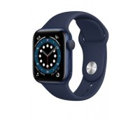 Купить Apple Watch Series 6 40mm Blue Aluminum Case with Deep Navy Sport Band онлайн