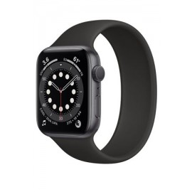 Купить Apple Watch Series 6 40mm Space Gray Aluminum Case with Black Sport Band онлайн