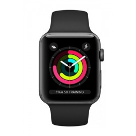 Купить Apple Watch Sport Series 3 Space Gray Aluminum Case with Black Sport Band 42mm онлайн