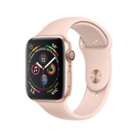 Купить Apple Watch Series 4 40mm Gold Aluminum Case with Pink Sand Sport Band онлайн
