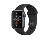 Купить Apple Watch Series 5 40mm Space Gray Aluminum Case with Black Sport Band онлайн
